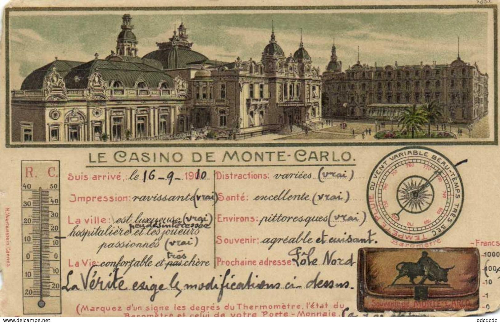 Fantaisie LE CASINO DE MONTE CARLO RV - Casino