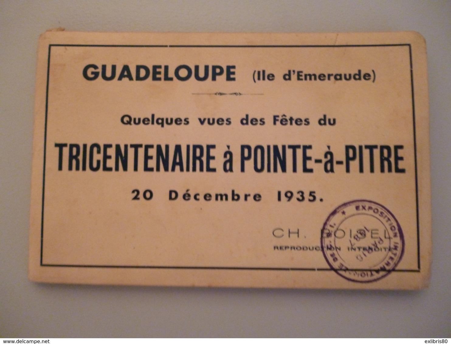 Pointe A Pitre Carnet De 12 Cartes - Pointe A Pitre