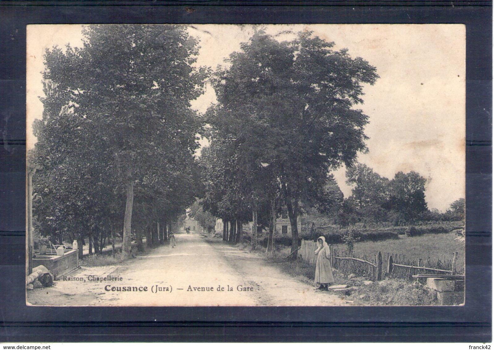 39. Cousance. Avenue De La Gare - France