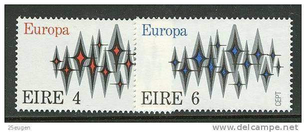 IRELAND  EUROPA CEPT 1972  MNH - 1972