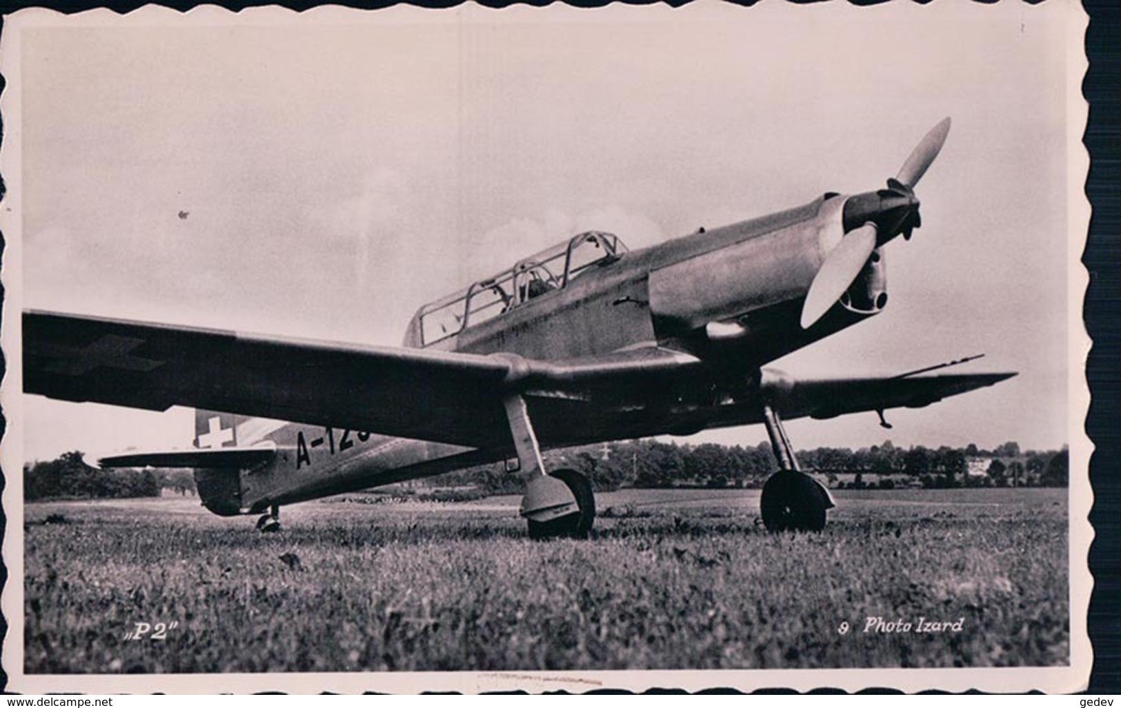Aviation, Avion à Hélice De L'Armée Suisse, Pilatus P-2 (9) - 1939-1945: 2ème Guerre
