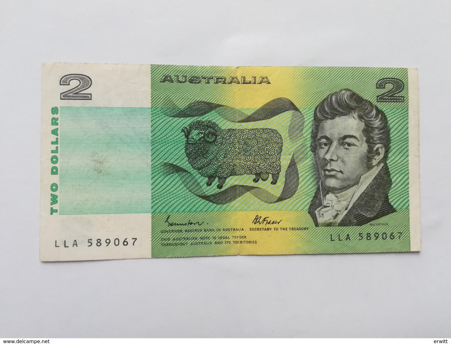 AUSTRALIA 5 DOLLARS - Emissioni Governative Decimali 1966-...