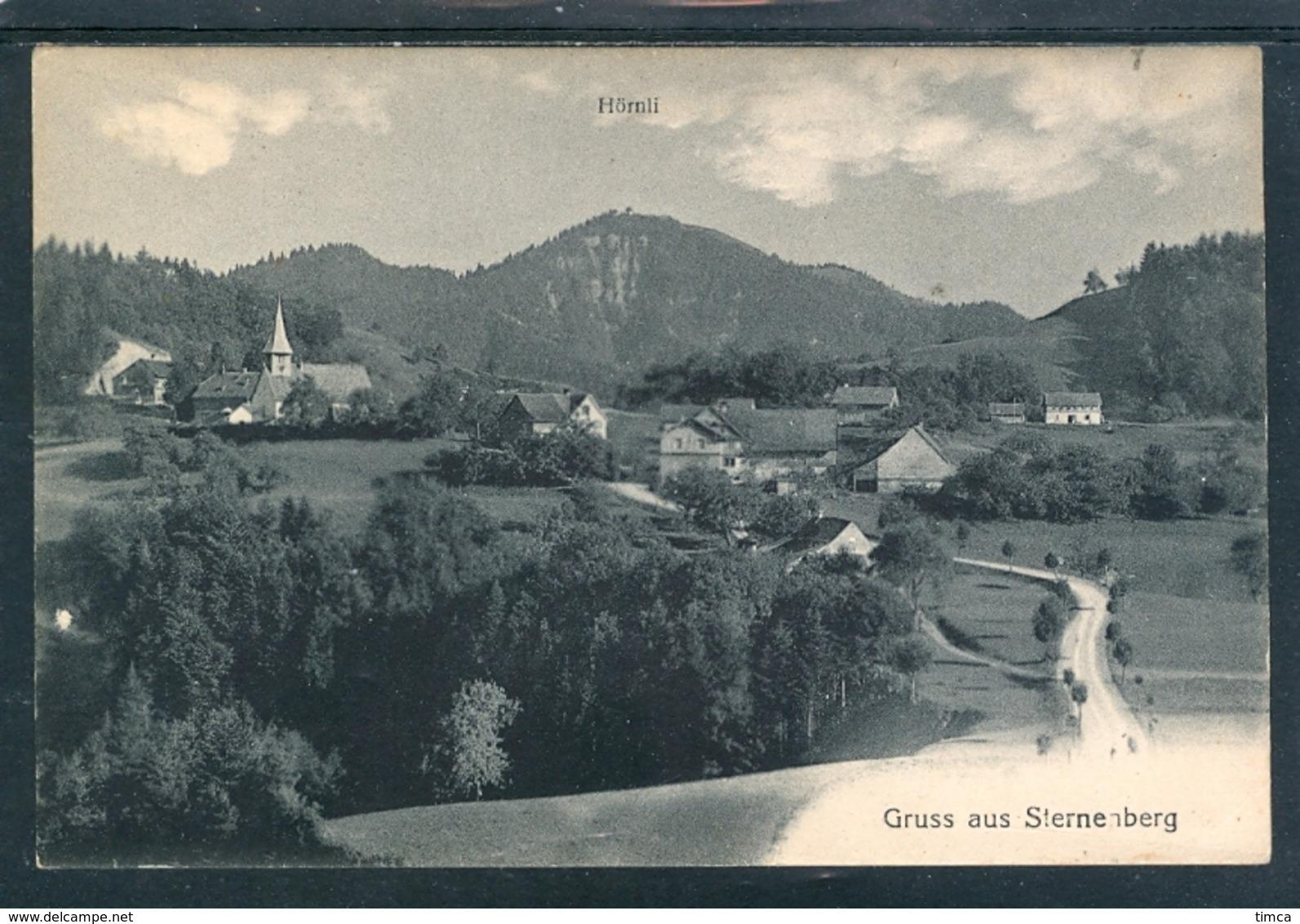 11932 Sternenberg - Eglise Et Hameau - Gruss Au - ZH Zurich