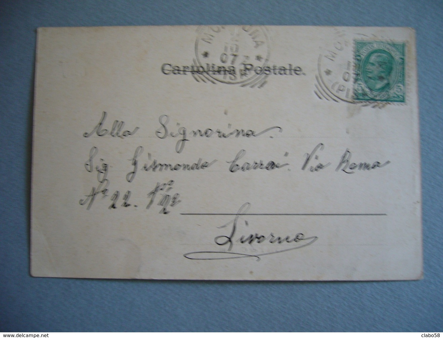 1907  SOIANA (PISA)  VIA PIER CAPPONI  ANIMATA - Pisa