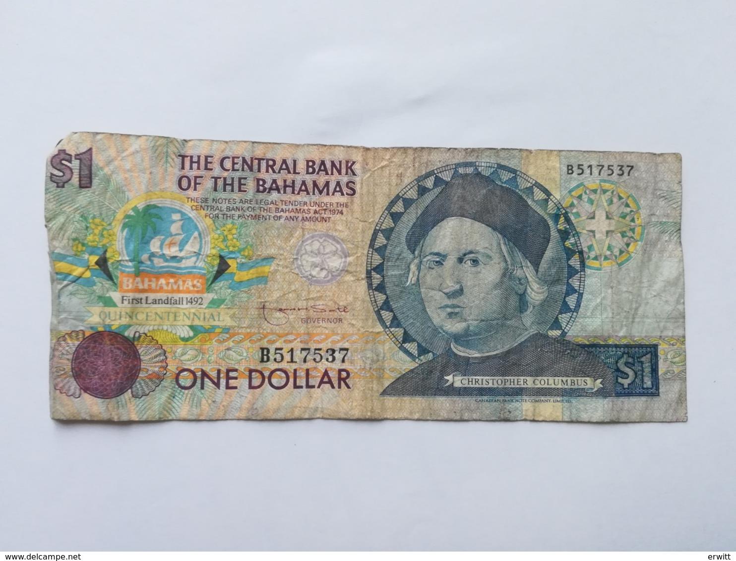 BAHAMAS 1 DOLLAR - Bahamas