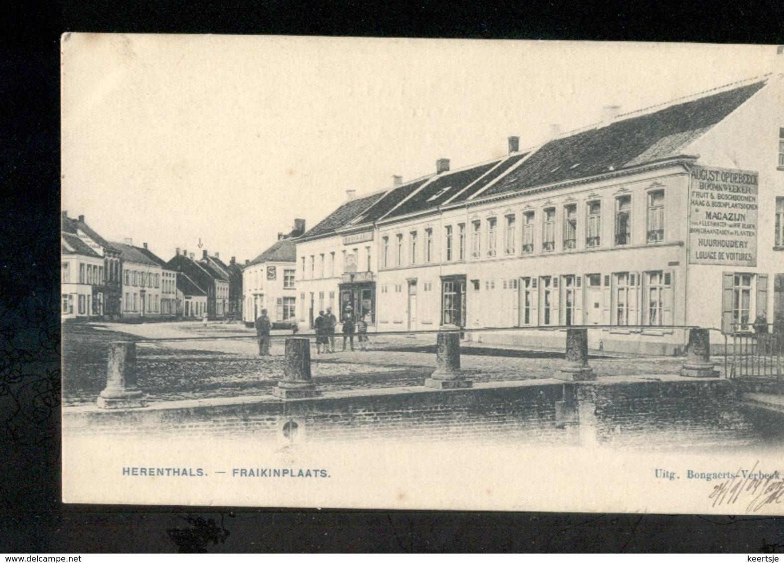 Herenthals - Fraikinplaats - 1904 - Belgique