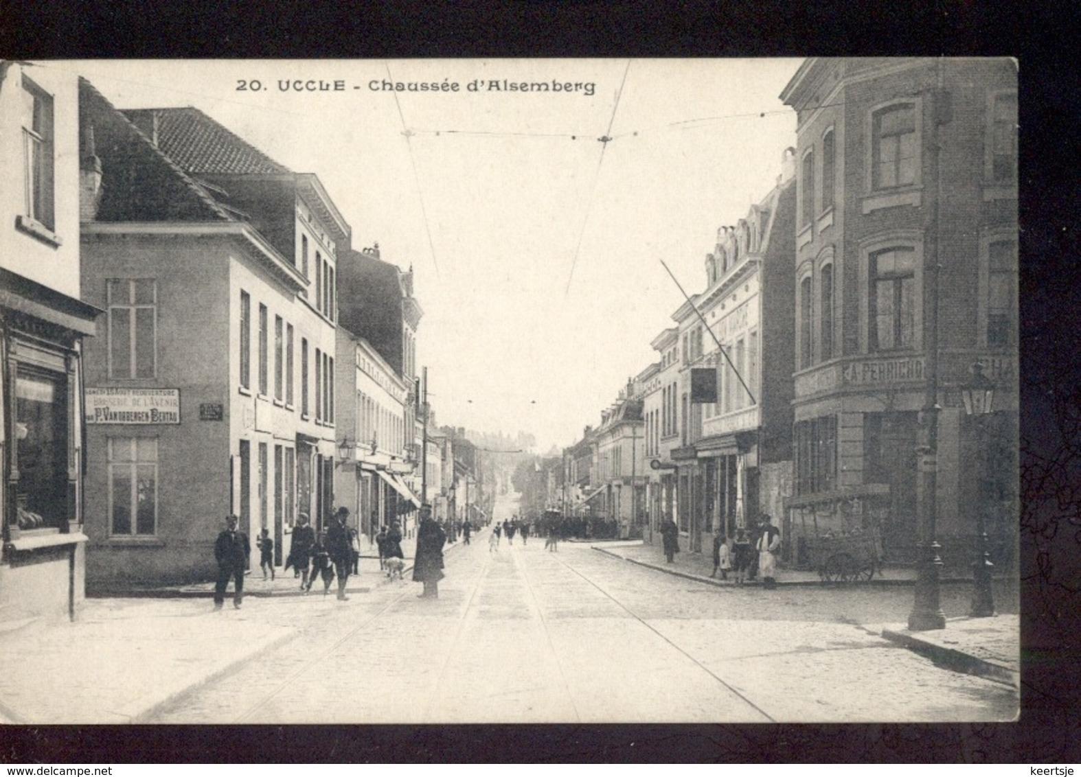 Uccle - Chaussee D Alsemberg - A Perricho - 1909 - Belgique
