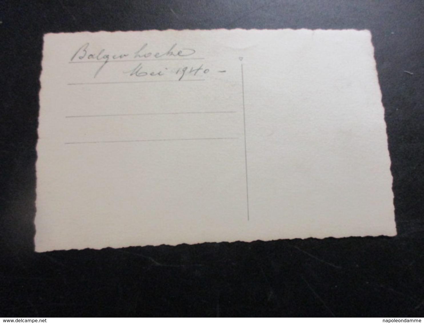 Fotokaart Balgerhoeke Mei 1940 - Eeklo