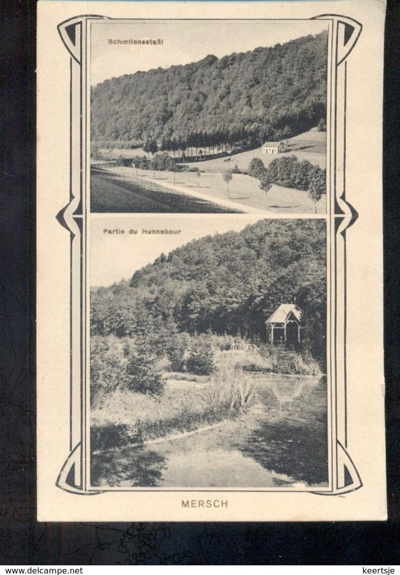 Luxembourg Luxemburg - Mersch - Hunnebour - Schloellensstaal - 1915 - Zonder Classificatie
