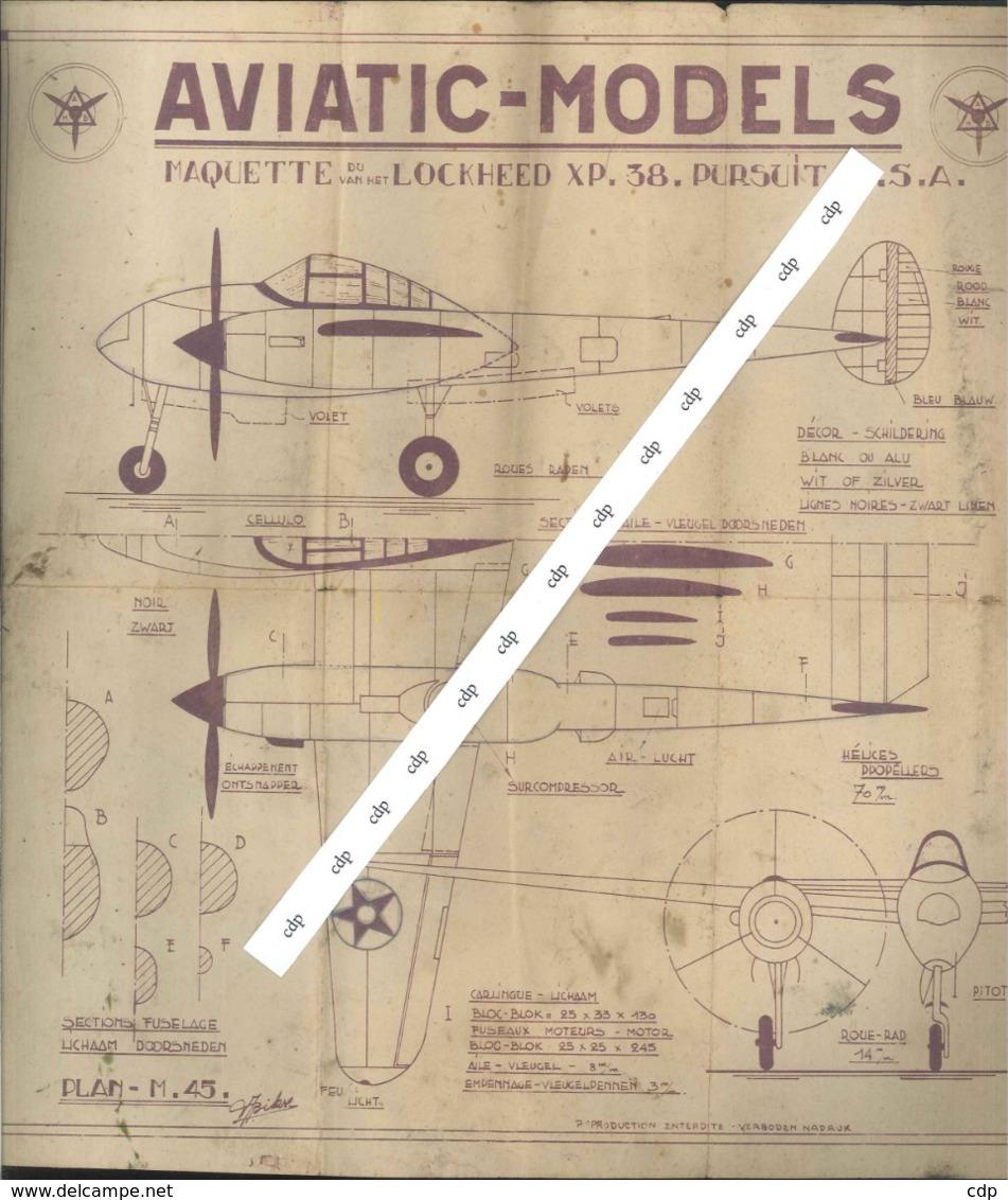 Aviatic-models Boulton Paul Défiant - Andere