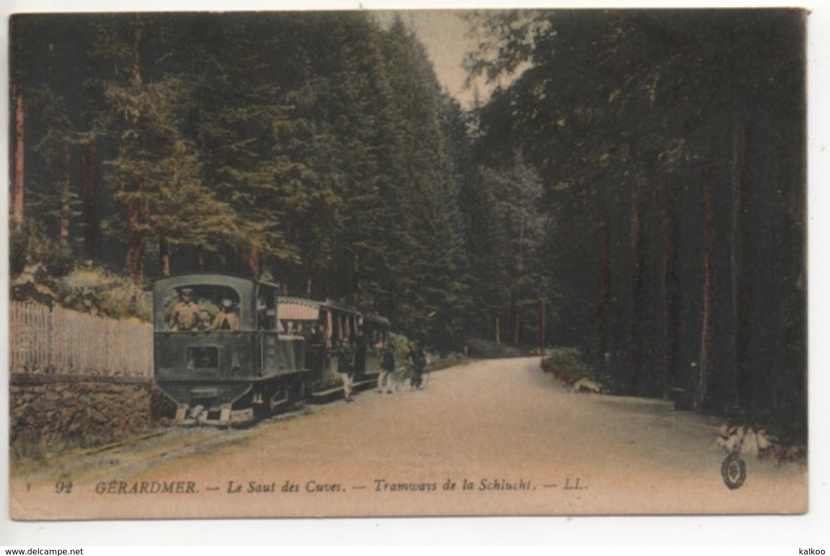 CP ( Gerardmer - Le Saut Des Cuves - Tramway De La Schlucht ) - Gerardmer