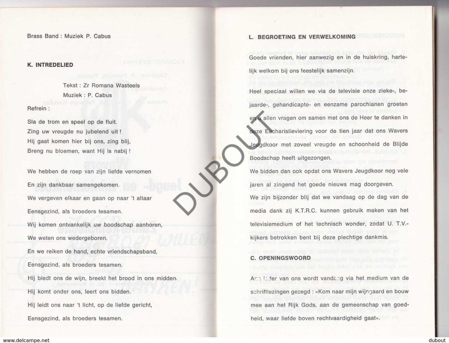 Onze Lieve Vrouw Sint Katelijne Waver - Parochie OLVrouw 1978 (R189) - Boeken, Tijdschriften, Stripverhalen