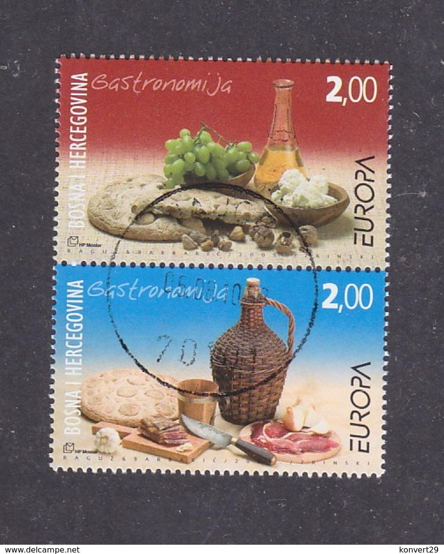Bosnia And Herzegovina Croatian (Mostar) 2005 Europa CEPT - Gastronomy Used - 2005