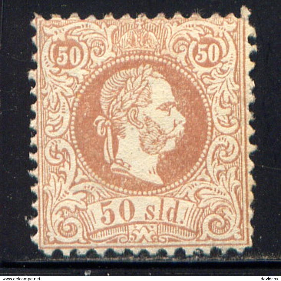 AUSTRIA (OFF. IN TURKISH EMP.), NO. 7, MH - 1850-1918 Empire