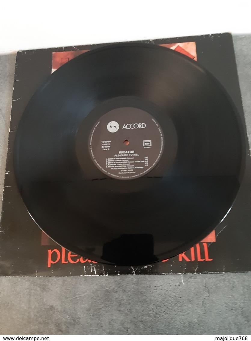 Kreator - Pleasure To Kill -  Accord – 130056, Noise International – N 0037 - 1986 - - Rock