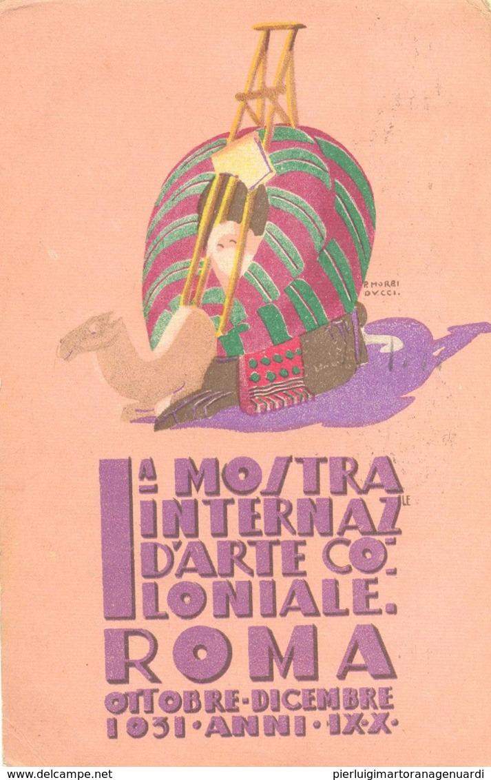 15351 - Roma - La Mostra Internazionale D' Arte Coloniale F - Mostre, Esposizioni