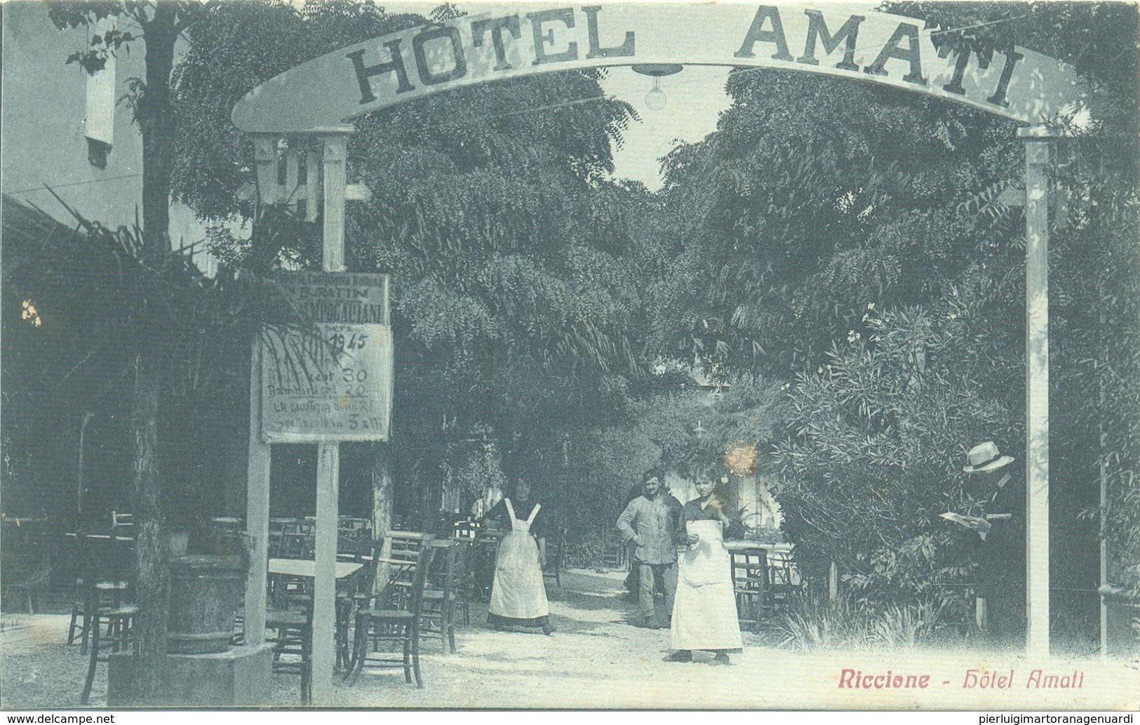 13219 - Riccione - Hôtel Amati (Rimini) F - Rimini
