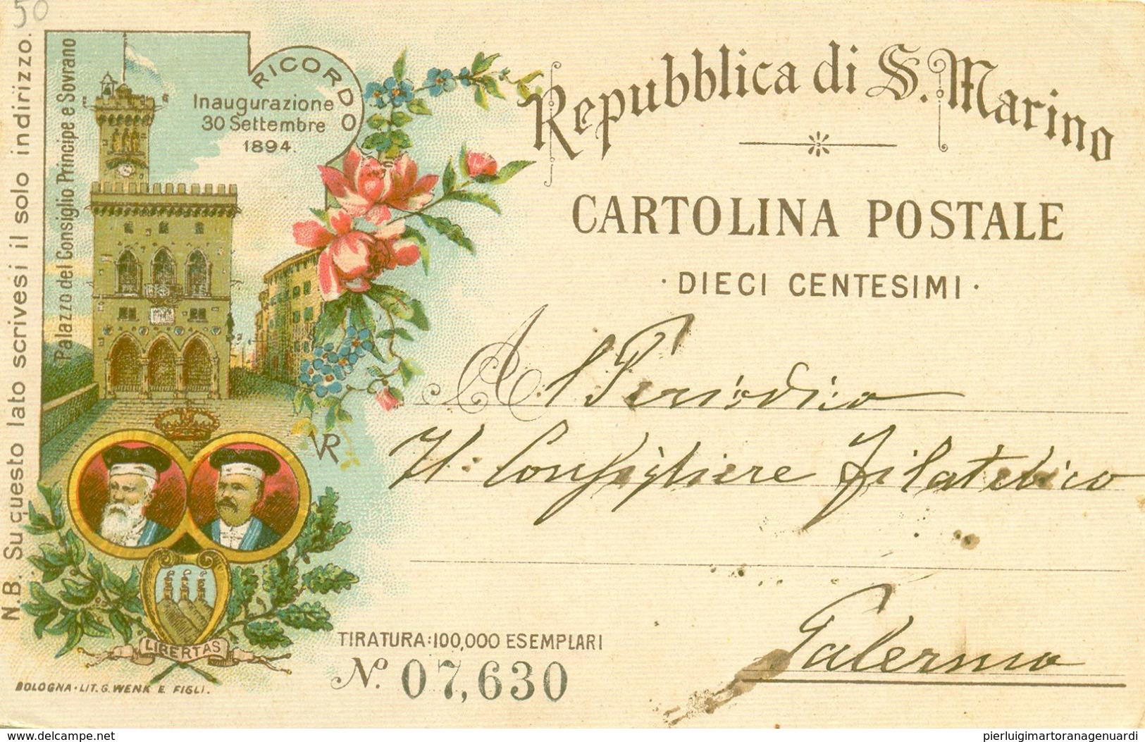 13357 - Repubblica Di San Marino - Palazzo Del Consiglio Principe E Sovrano F - San Marino