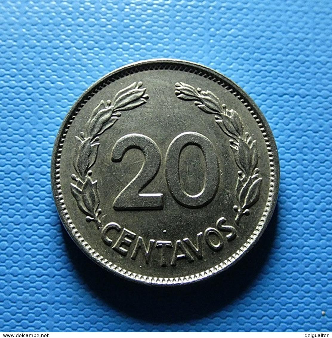 Ecuador 20 Centavos 1966 - Ecuador