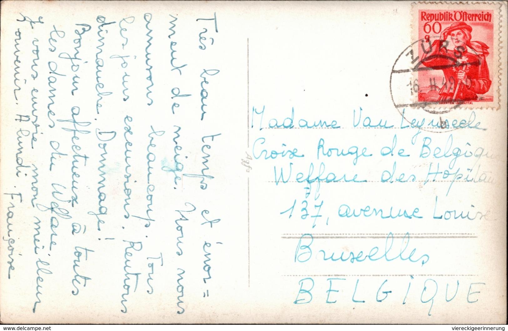 ! 1949 Ansichtskarte Zürs, Vorarlberg, Österreich - Zürs