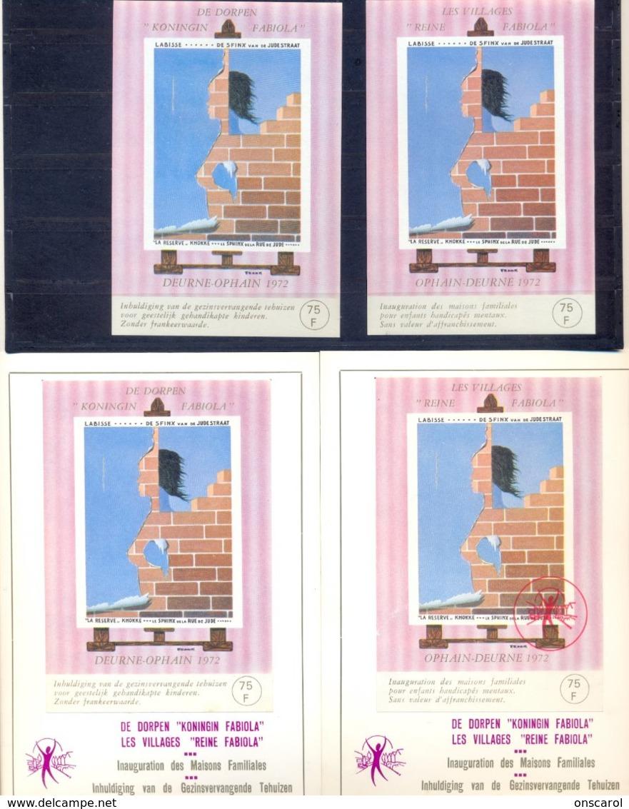 E123/E124 Postgaaf ** MNH + Luxevelletjes - Erinnophilie