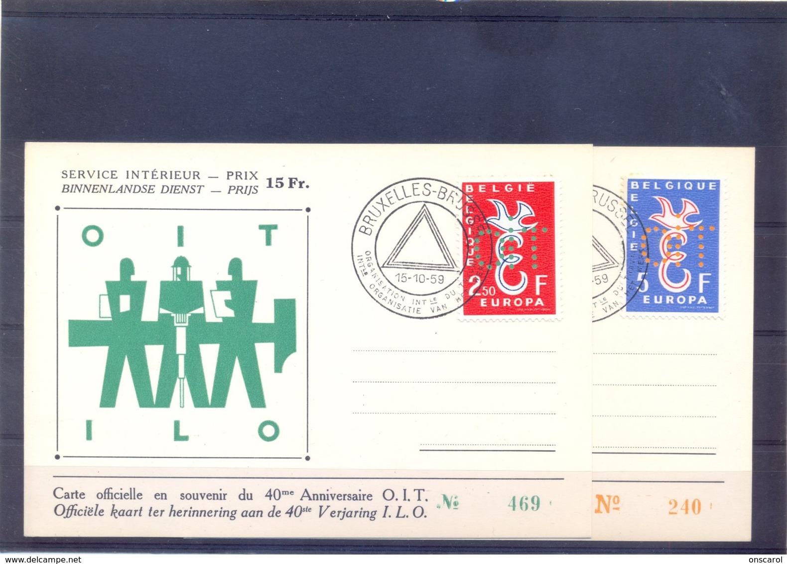 PR133/34 Op Kaart - Belgien