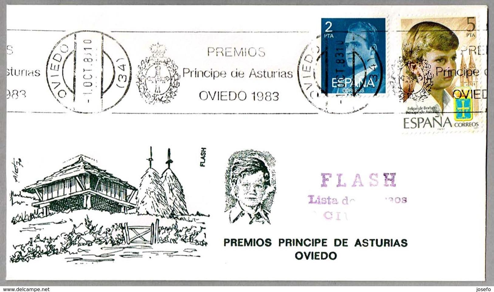 PREMIOS PRINCIPE DE ASTURIAS 1983. Oviedo, Asturias, 1983 - 1931-Hoy: 2ª República - ... Juan Carlos I