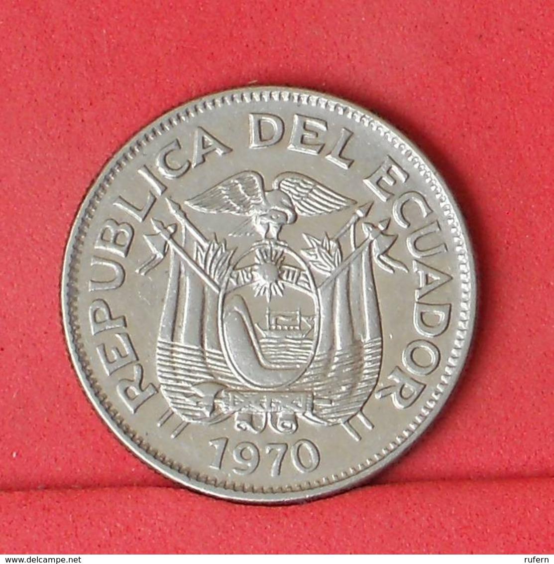 ECUADOR 1 SUCRE 1970 -    KM# 78b - (Nº31461) - Ecuador