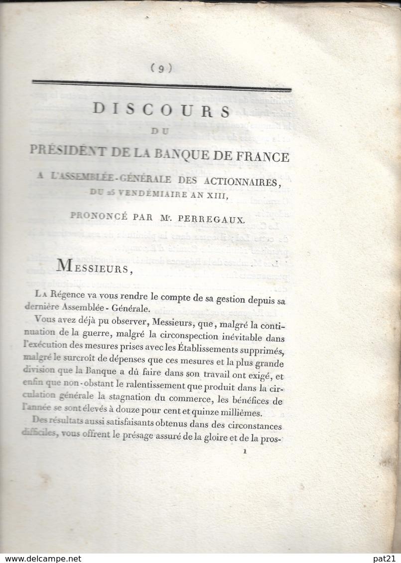 Bonaparte, Banque De France An 13 - Historical Documents