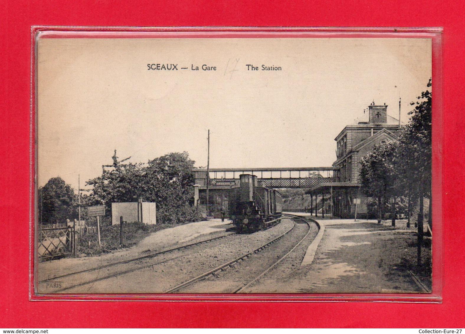 92-CPA SCEAUX - LA GARE - Sceaux