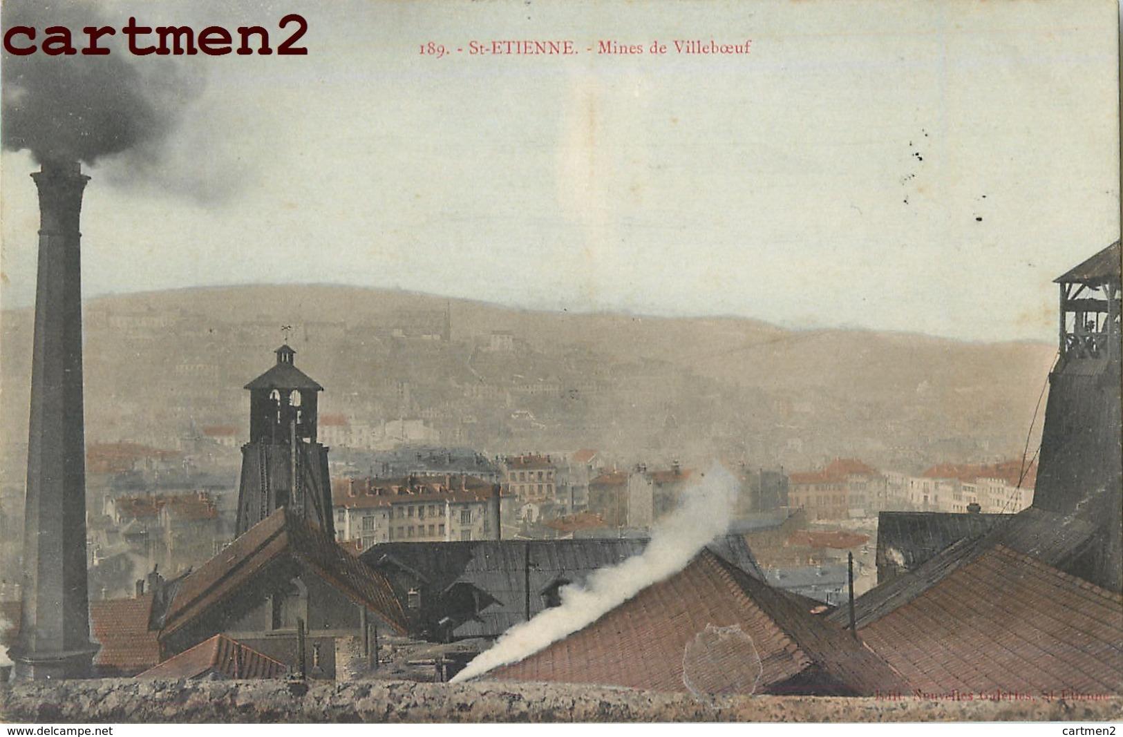 SAINT-ETIENNE MINES DE VILLEBOEUF 42 - Saint Etienne
