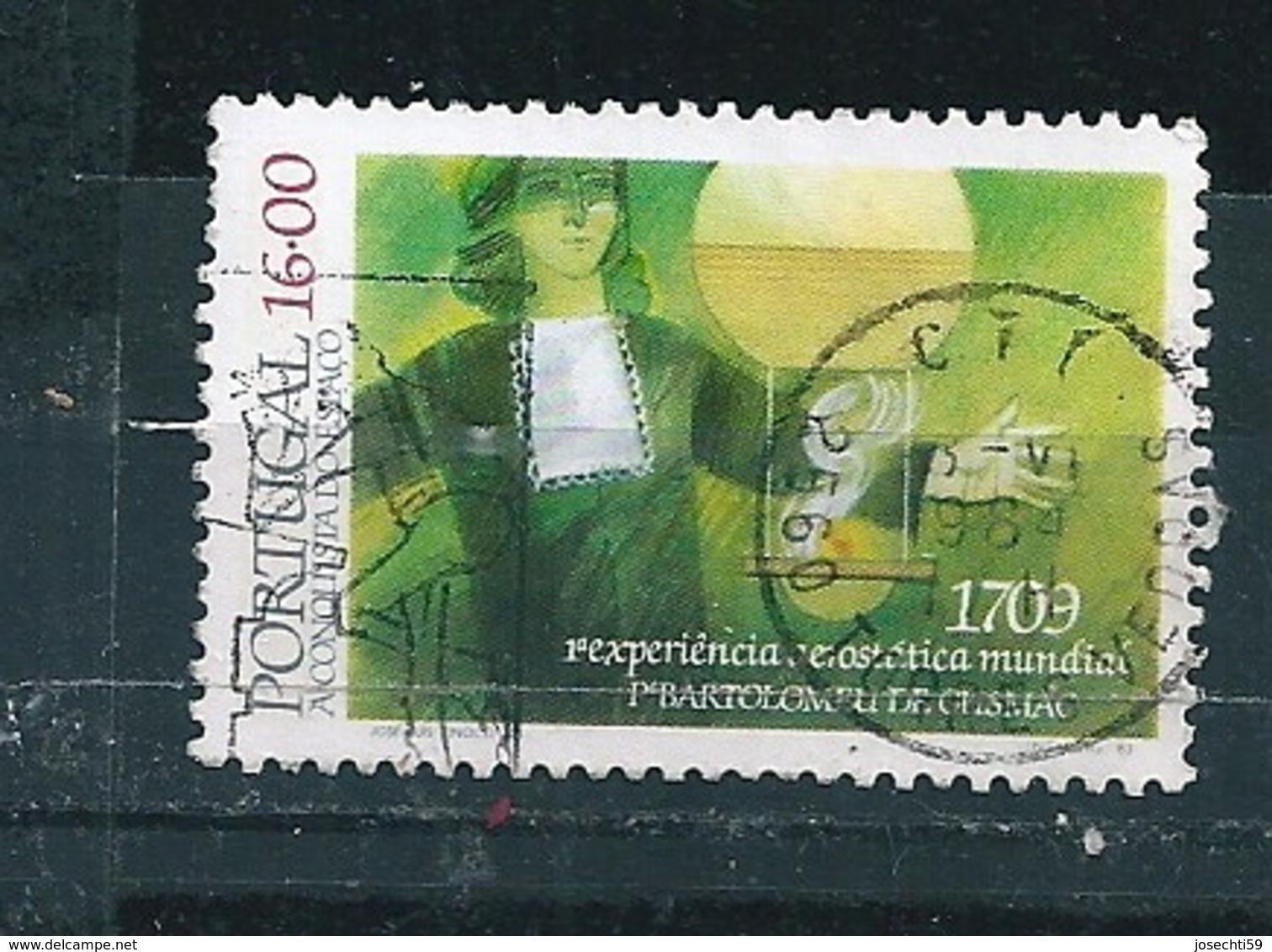 N° 1591 Conquête De L'espace  Timbre Portugal  Oblitéré 1983 - 1910-... République