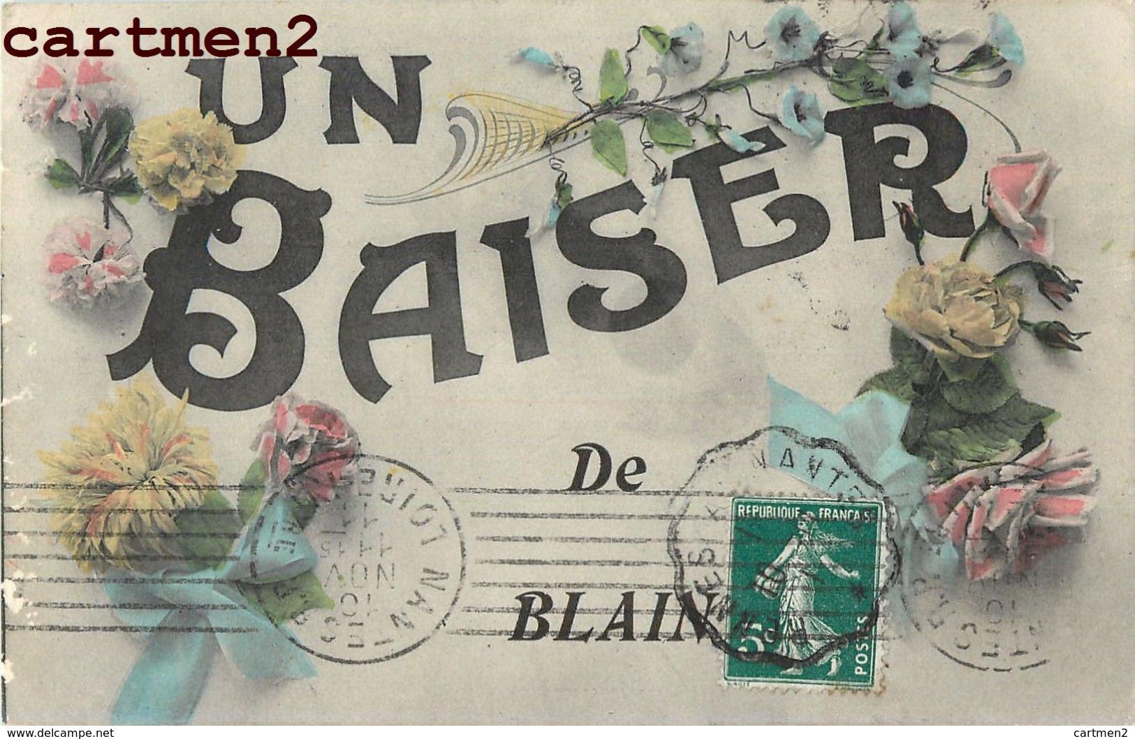 UN BAISER DE BLAIN FANTAISIE 44 - Blain