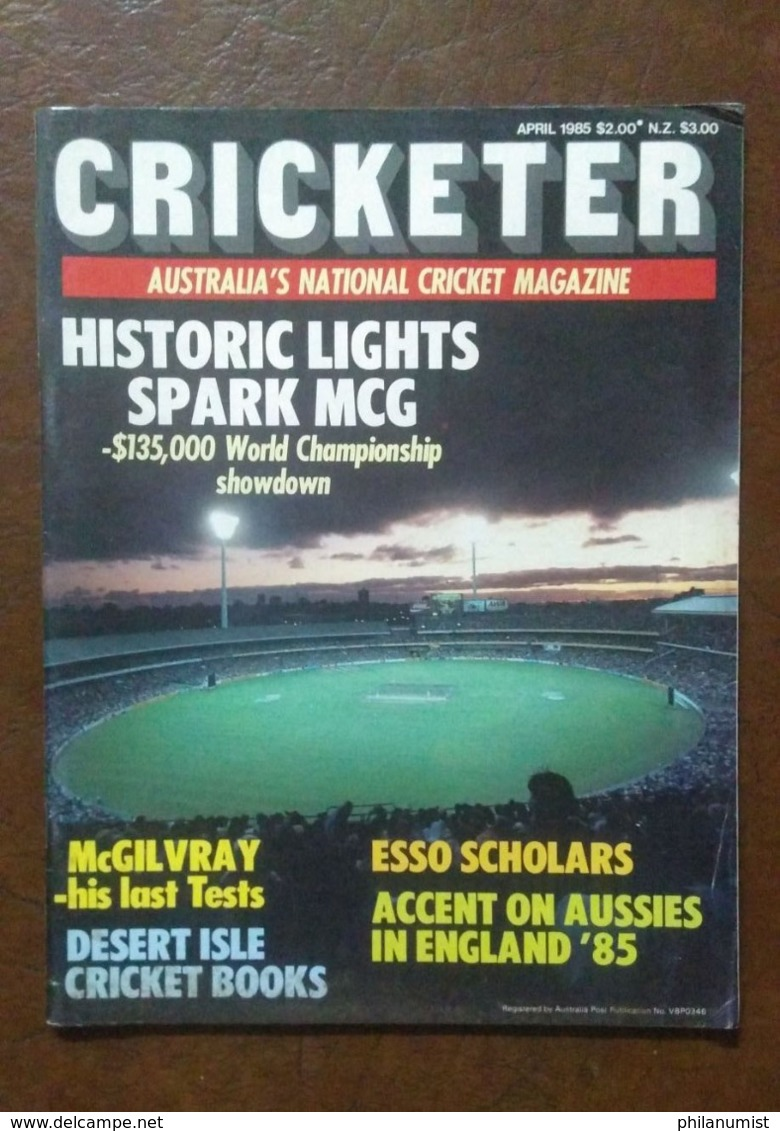10 CRICKETER AUSTRALIA MAGAZINE LOT 1980's !! - Sports