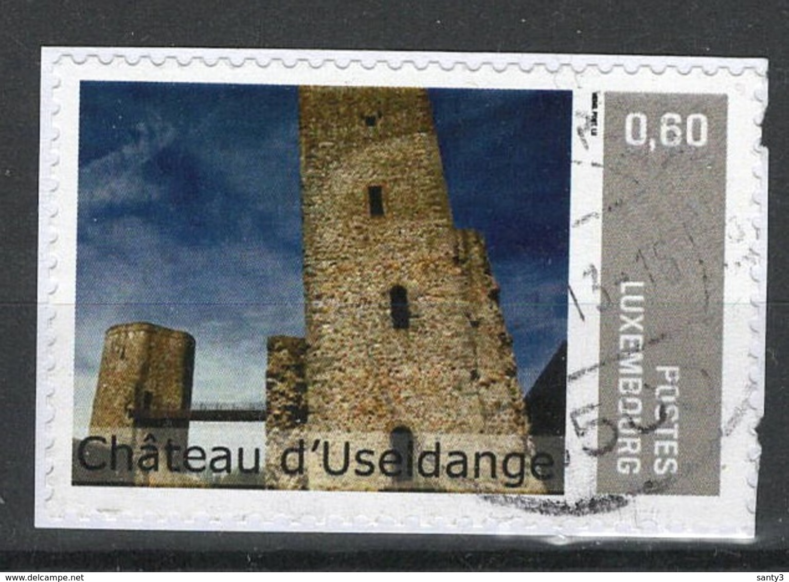 Luxemburg, Persoonlijke Zegel Gestempeld, Zie Scan - Luxembourg