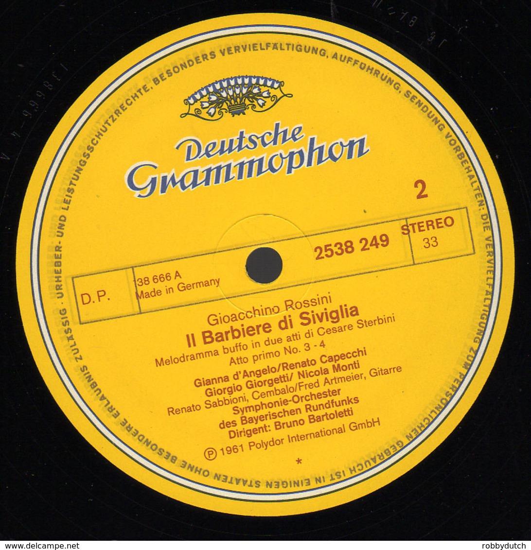 * 3LP Box *  ROSSINI - IL BARBIERE DI SIVIGLIA - Oper & Operette