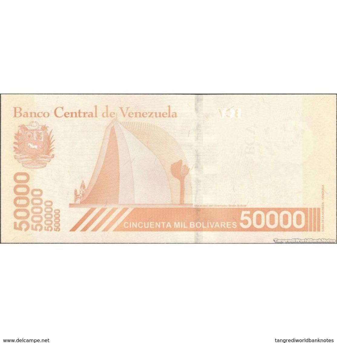TWN - VENEZUELA NEW - 50000 50.000 Bolivares 22.1.2019 Prefix A UNC - Venezuela