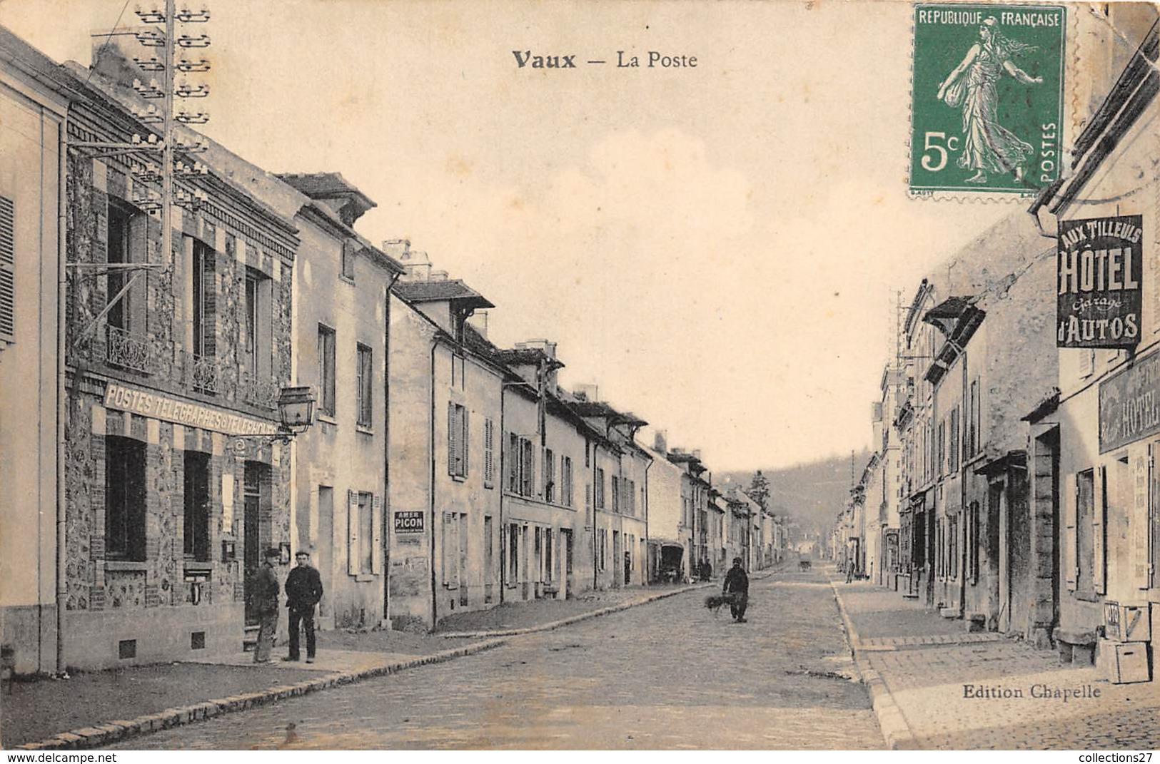 78-VAUX- LA POSTE - Vaux De Cernay
