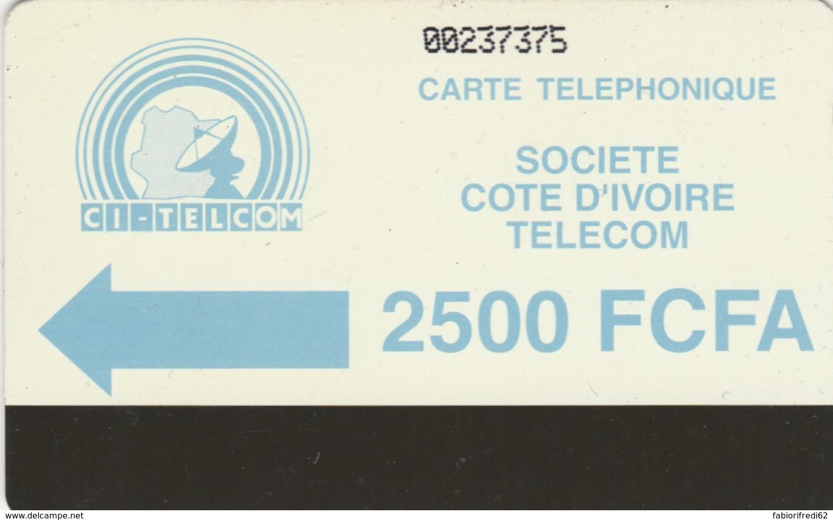 PHONE CARD COSTA D'AVORIO (E51.18.6 - Costa D'Avorio