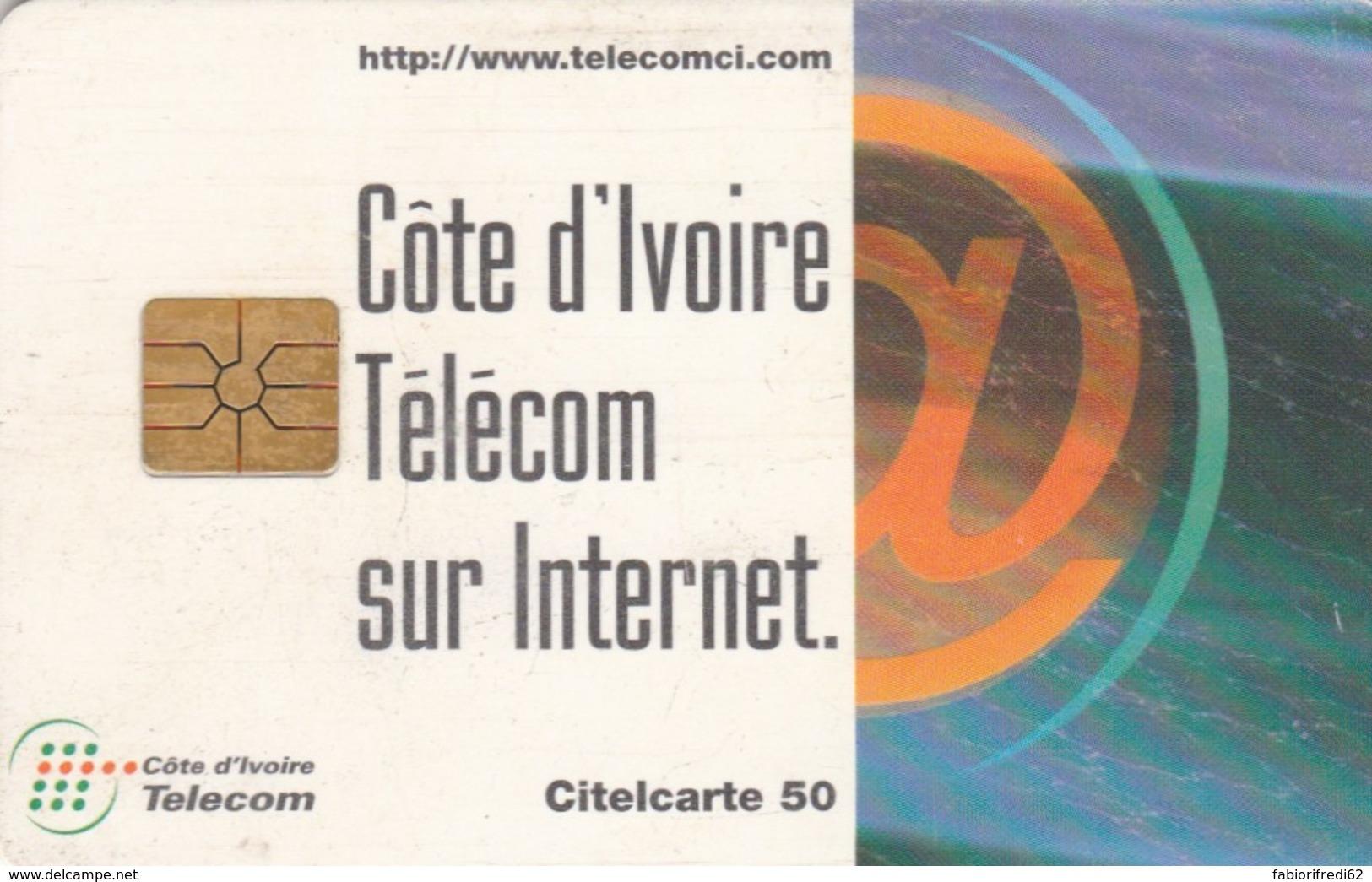 PHONE CARD COSTA D'AVORIO (E51.21.2 - Côte D'Ivoire