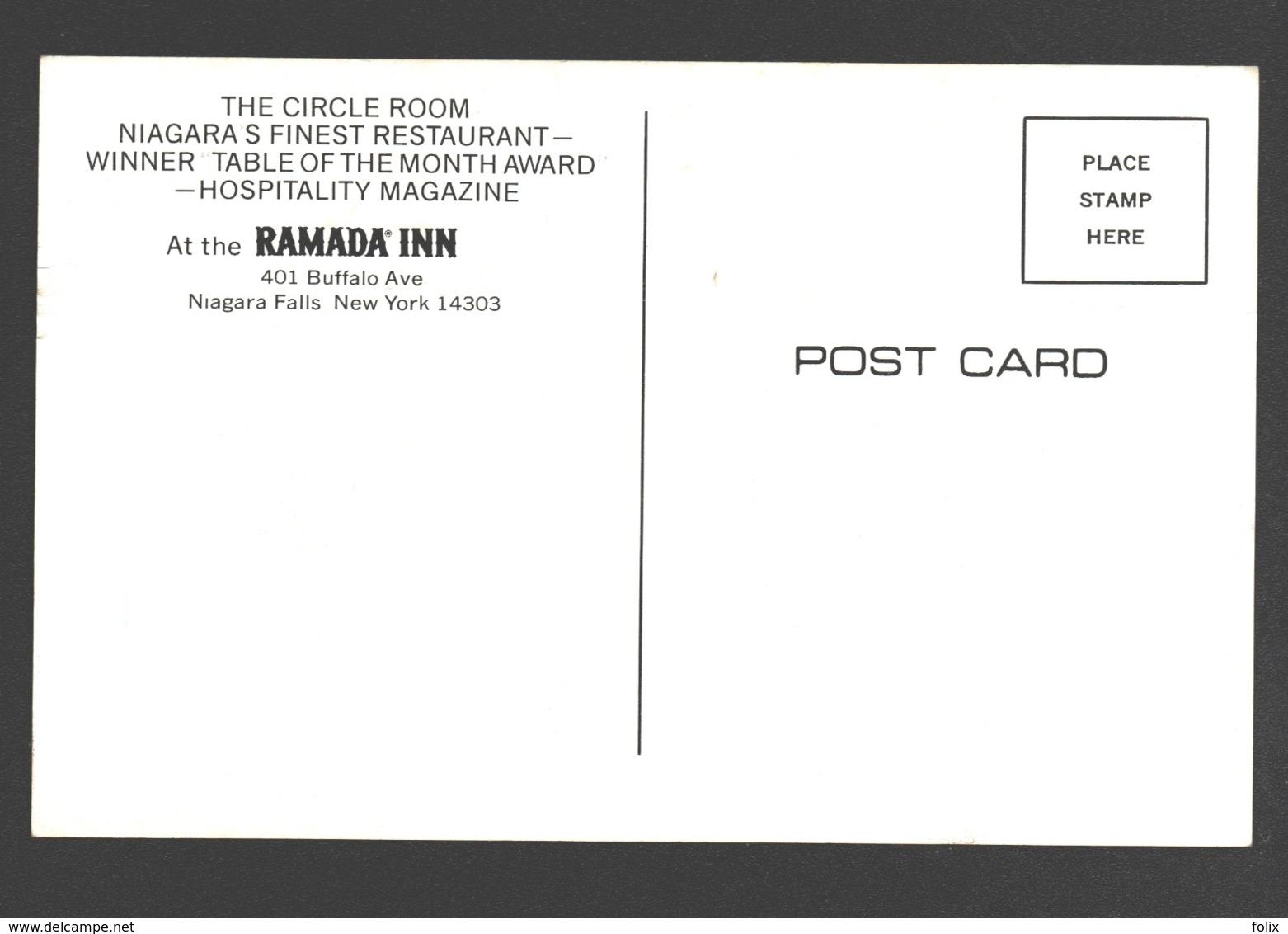 Niagara Falls - Ramada Inn - Winner 'Table Of The Month Award - Hospitality Magazine' - NY - New York