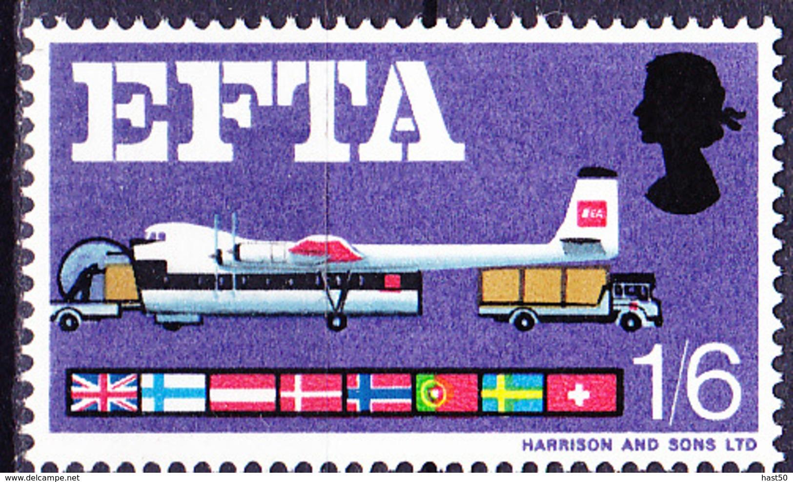 Großbritannien Great Britain Grande-Bretagne - EFTA (MiNr: 445x) 1966 - Postfrisch MNH - Unused Stamps