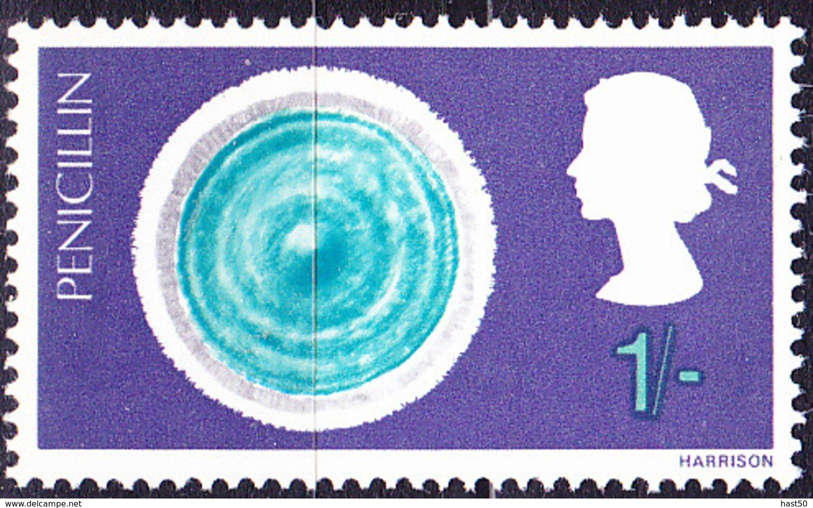 Großbritannien Great Britain Grande-Bretagne - Penechilin (MiNr: 471) 1967 - Postfrisch MNH - Unused Stamps