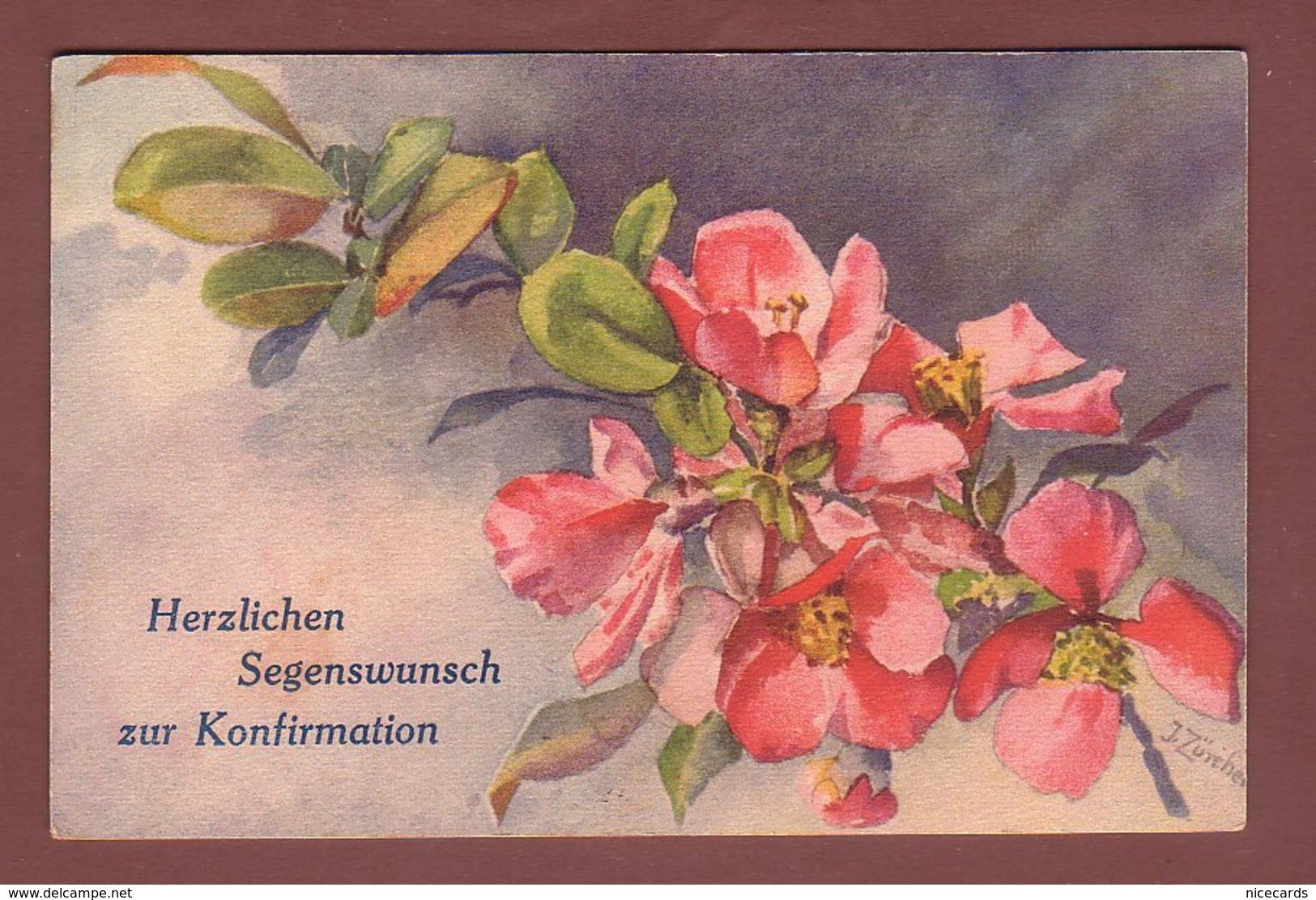 BLUMEN Und Konfirmation / FLEURS Et Confirmation - Fleurs, Plantes & Arbres