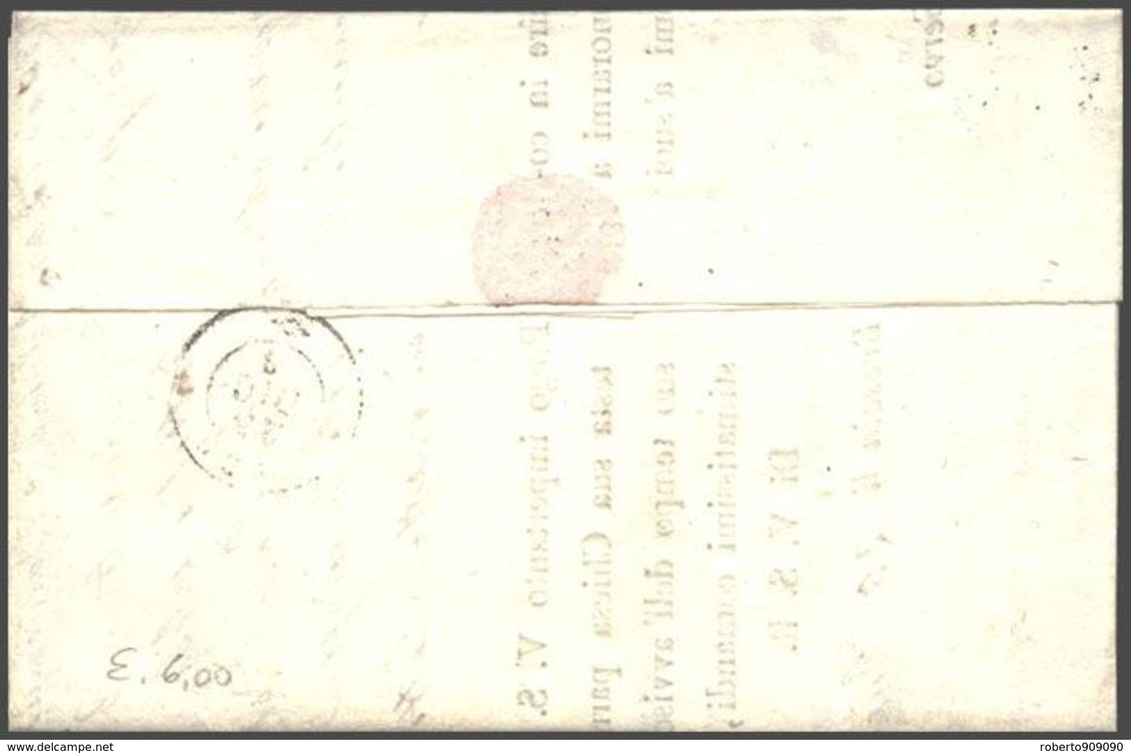1868 EFFIGIE C.20 Tirat. Londra Su Lettera Completa Testo Brescia (25.12) - Storia Postale
