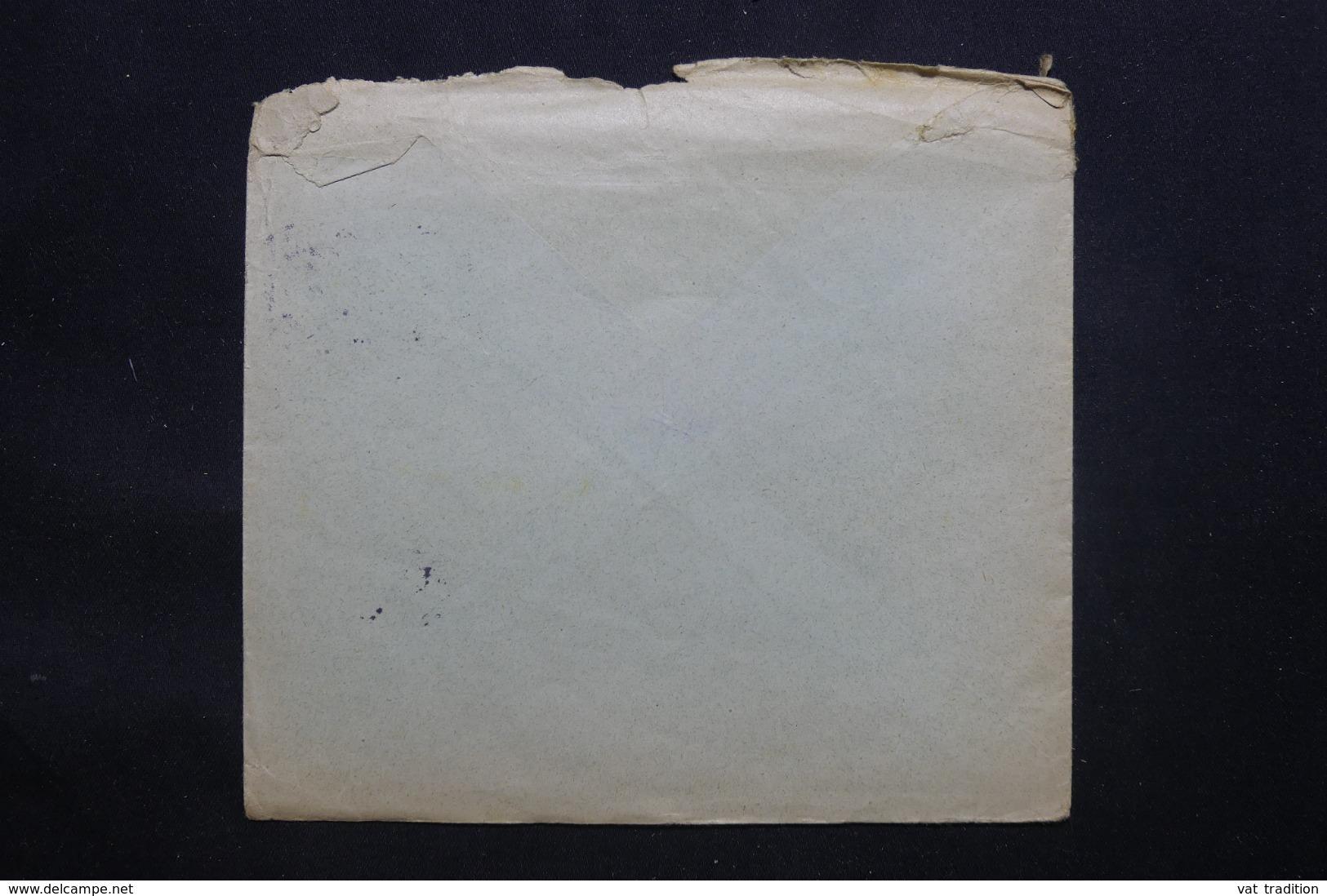 ALLEMAGNE - Enveloppe Commerciale De Zeitz En 1915 Avec Cachet De Censure, Affranchissement Perforé - L 43064 - Covers & Documents