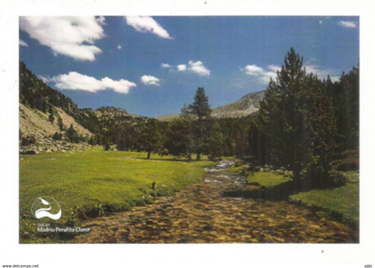 ANDORRA. Vall Del Madriu-Perafita-Claror. Patrimoine Mondial Unesco. (La Chaîne Du Pla De L'Ingla) - Andorre