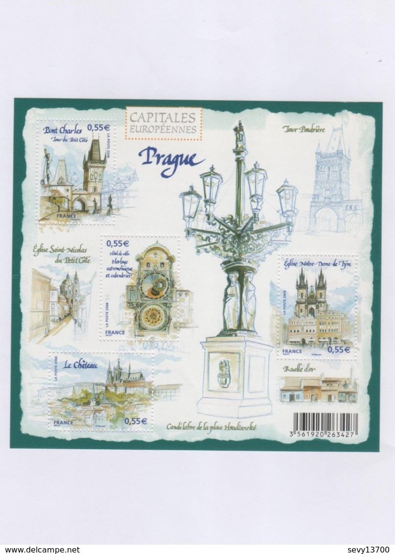 Capitales Européennes - Prague -  2008 - Yet T N° 126 - MiFR BL99 - Ungebraucht