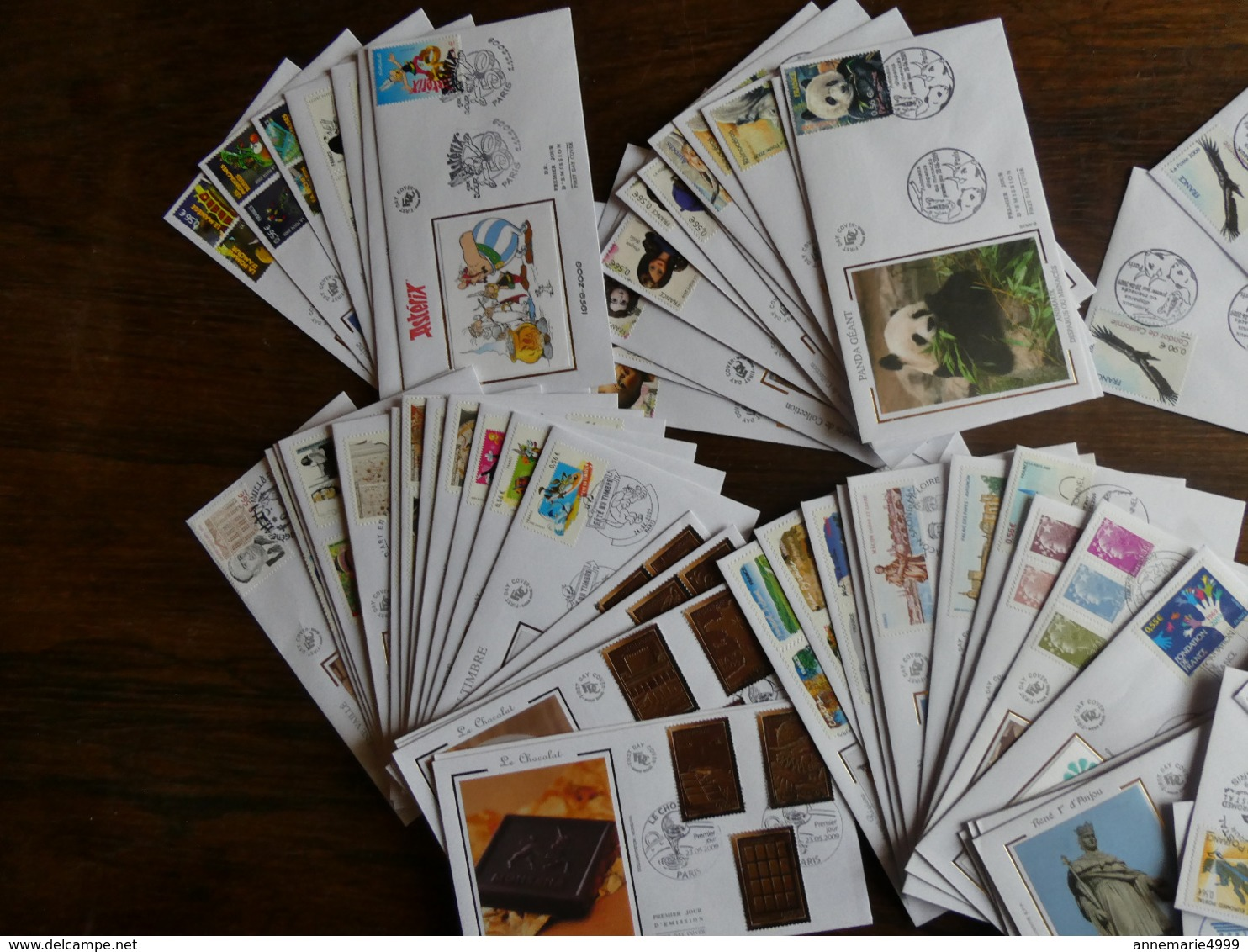 FRANCE  99 Enveloppes FDC  Année 2009 Très Bel état - FDC