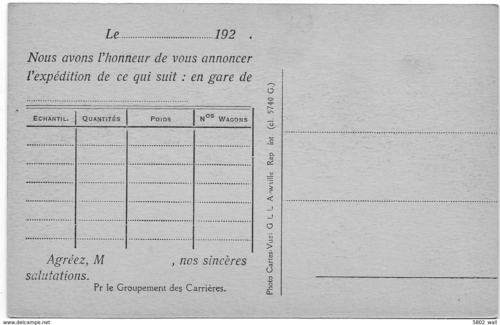 REMOUCHAMPS : Carrière De La Falize - Départ De L'aérien - Aywaille